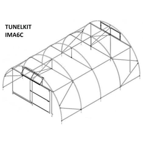 Tunel Kit de 6 metros de ancho