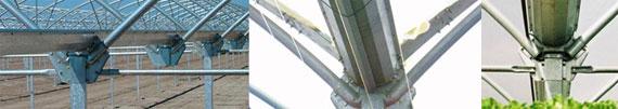 invernadero multicapilla romanico canalon